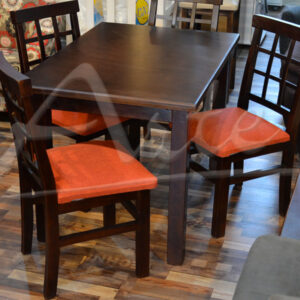 Comedor 4 sillas madera maciza fabricacion nacional