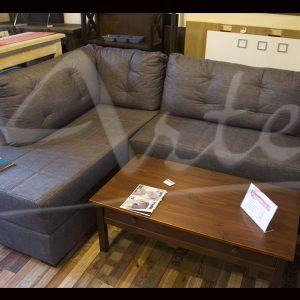 Sofá esquinero cómodo tela