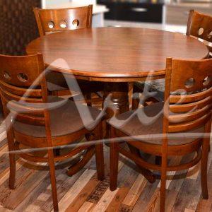 juego de comedor 4 sillas tapizadas
