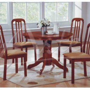 juego comedor segovia 4 sillas