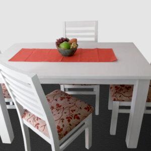 Juego de comedor Montana 4 sillas tapizadas